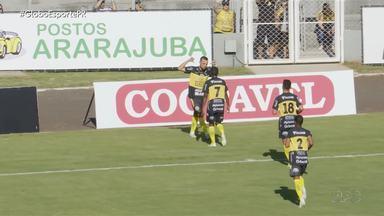 No clássico do Veneno, deu FC Cascavel - Duelo entre as equipes de Cascavel agitou rodada do Campeonato Paranaense