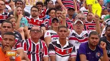 Santa Cruz e Bahia empatam em 0 a 0 pela Copa do Nordeste - Santa Cruz e Bahia empatam em 0 a 0 pela Copa do Nordeste