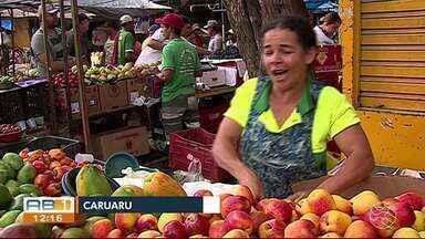 Feira de Caruaru está com frutas e verduras mais caras - Assim como o tomate, diversos produtos registraram aumento de uma semana para outra.