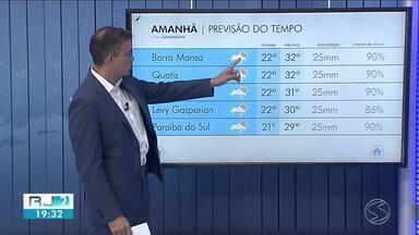 Quarta-feira é de sol e calor no Sul do Rio - De acordo com a meteorologia, há chances de chuva isolada no fim da tarde.