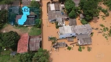Seis municípios do Espírito Santo decretam calamidade pública - Rio Doce transbordou e continua avançando sobre regiões do estado.