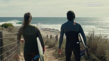 Amizade na Estrada - Após passarem pelo deserto australiano, Marcela e Nelsinho dirigem 800 quilômetros em busca de condições perfeitas para o kitesurf. Quando chegam, uma praia deserta é encontrada.