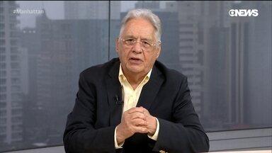 O melhor e o pior do Brasil na última década segundo FHC - Em sua décima participação no Manhattan Connection, o ex-presidente Fernando Henrique Cardoso avalia o que houve melhor e de pior no Brasil na última década, e aponta o que está por vir nos dez anos seguintes.
