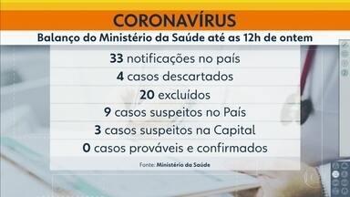 Instituto Adolfo Lutz analisa casos suspeitos de coronavírus em SP - Duas crianças e um adulto apresentam sintomas da doença.