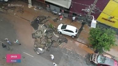 Ana Maria Braga se solidariza com a população de Minas Gerais - Estado sofre com fortes chuvas que causaram alagamentos em Belo Horizonte e diversas outras cidades. Veja como está a situação na capital na manhã desta quinta-feira