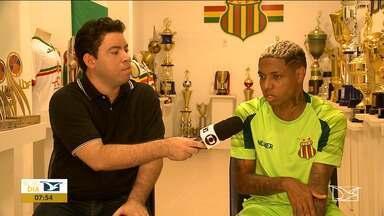 Luan comemora golaço e projeta clássico contra o MAC - Atacante fala sobre bom começo com a camisa do Sampaio