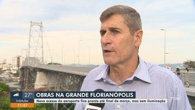 Secretário de Infraestrutura fala sobre obras na Grande Florianópolis - Secretário de Infraestrutura fala sobre obras na Grande Florianópolis