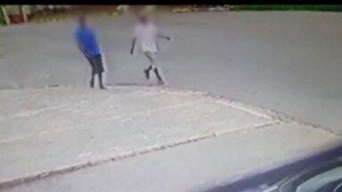 Segundo suspeito de roubar e matar jovem na Vila Áurea, em Poá, é preso - De acordo com a polícia, o suspeito aparece nas imagens das câmeras de monitoramento registradas no dia em que o jovem de 19 anos foi baleado e morreu.