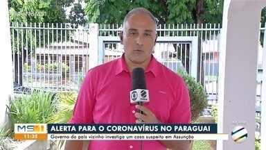 Autoridades de saúde do Paraguai seguem monitorando suspeita de coronavírus - No Brasil são 9 casos suspeitos em São Paulo, Santa Catarina e Minas Gerais