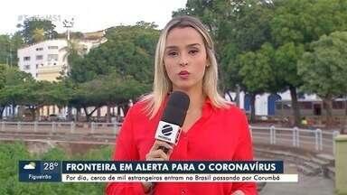 Em Corumbá, autoridades estão em alerta para o coronavírus por conta da fronteira - No Brasil são 9 casos suspeitos em São Paulo, Santa Catarina e Minas Gerais