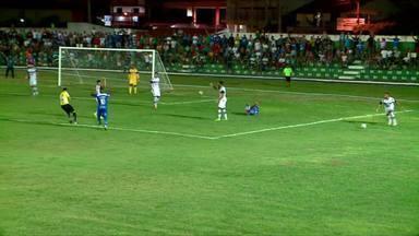 Parnahyba vence River-PI no Pedro Alelaf com gol de pênalti - Parnahyba vence River-PI no Pedro Alelaf com gol de pênalti