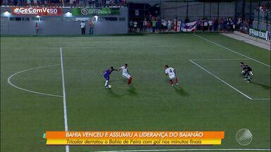 Bahia vence o Bahia de Feira e assume a liderança do Campeonato Baiano 2020 - Confira os melhores momentos da partida.