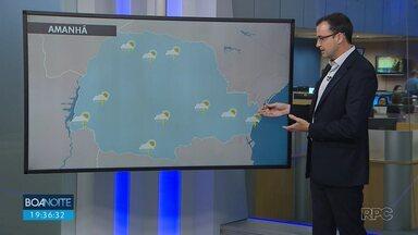 Sexta-feira (30) começa com tempo bom e termina com chuva - Chuva forte deve chegar no fim de semana na região de Curitiba.