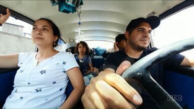 Família venezuelana viaja mais de 6 mil km de fusca até a RMC de Curitiba - Eles vieram para o Paraná em busca de oportunidades.