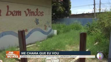 'Me Chama Que Eu Vou' está em Campos dos Goytacazes, no RJ - Cupins e abandono estão acabando com estrutura de creche em Guarus