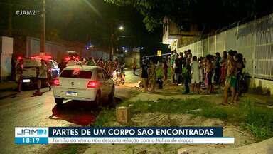 Partes de corpo são encontradas em Manaus - Família de mulher desaparecida dizem reconhecer membros.