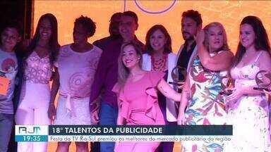 18º Talentos da Publicidade premia destaques do mercado publicitário no Sul do Rio - Convidados conheceram também o que vem por aí na programação da TV Rio Sul.