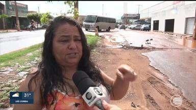 Buracos na BR-316 dificultam acesso a cidade de Picos - Buracos na BR-316 dificultam acesso a cidade de Picos
