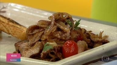 Carne em Conserva - Ana Maria Braga mostra o passo a passo da receita