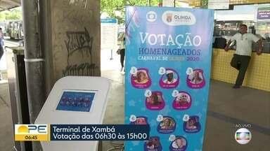 TI Xambá recebe urna para escolher homenageados do carnaval de Olinda - Votação vai até as 15h desta quarta-feira (5) nesse local.