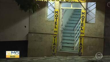 Mulher é assassinada em hotel no Centro de Belo Horizonte; ex-namorado é suspeito - Crime foi na Rua Guarani.
