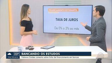Fabiano Simões comenta sobre linha de financiamento em bancos - Fabiano Simões comenta sobre linha de financiamento em bancos