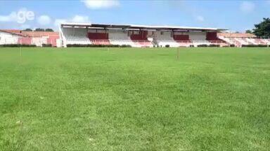 Em reforma, Arena Ytacoatiara aguarda primeiro corte da grama - Em reforma, Arena Ytacoatiara aguarda primeiro corte da grama