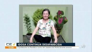Professora da Paraíba continua desaparecida em Juazeiro do Norte - Saiba mais no g1.com.br/ce