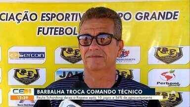 Barbalha troca de treinador - Saiba mais no g1.com.br/ce