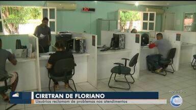 Usuários reclamam do sistema do Detran e da demora no atendimento pelo interior do Piauí - Usuários reclamam do sistema do Detran e da demora no atendimento pelo interior do Piauí