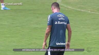 Grêmio enfrenta Aimoré na última rodada do primeiro turno do Gauchão - Confira as informações do Grêmio direto do Centro de Treinamento.