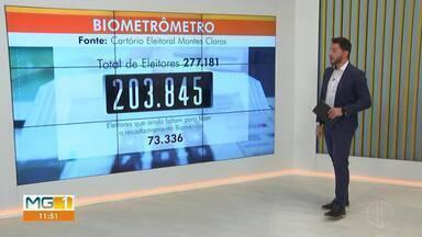 Confira o biometrômetro em Montes Claros dessa sexta-feira (7) - O último dia para os eleitores de Montes Claros fazerem o recadastramento biométrico é 06 de março.