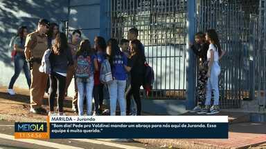 Militares inativos estão sendo convocados para fazer segurança em colégios de Cascavel - Ao todo 11 colégios devem receber militares inativos para reforçar a segurança.