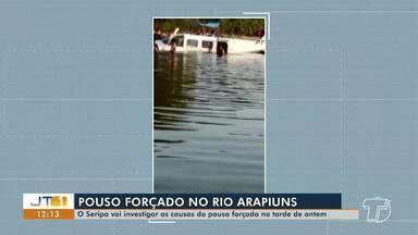 Avião faz pouso forçado em Santarém; incidente será investigado - Caso aconteceu na quinta-feira (6).