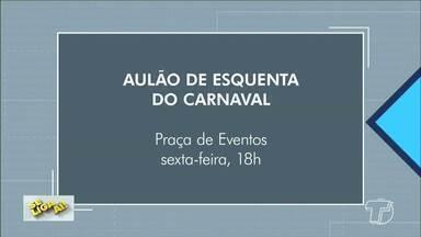 Se liga aí: confira as opções para aproveitar o fim de semana em Santarém - Confira as dicas culturais no quadro.