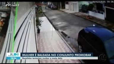 Polícia investiga tentativa de assalto no conjunto Promorar em Belém - Duas mulheres foram abordadas por dois homens que estava a pé.
