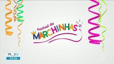 Cinco finalistas do Festival de Marchinhas são divulgadas - Escolha sua favorita através do g1.com.br/tvriosul.