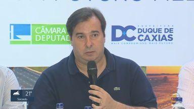 Deputado federal Rodrigo Maia (DEM) critica aumento para servidores da segurança de Minas - Projeto de lei do Poder Executivo de Minas foi encaminhado para a ALMG. Não há prazo para votação.