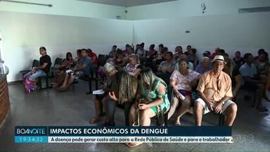 Impactos econômicos da dengue em Foz do Iguaçu - A doença pode gerar custo alto para a Rede Pública de Saúde e para o trabalhador.