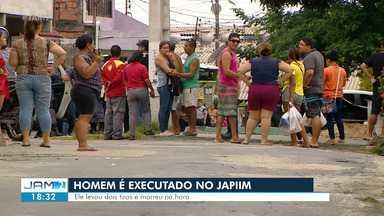 Homem é morto por suspeitos armados em praça na Zona Sul de Manaus - Homem é morto por suspeitos armados em praça na Zona Sul de Manaus