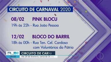 Circuito de Carnaval começa neste sábado em Campos - Até 28 de fevereiro, cerca de 30 blocos prometem agitar os foliões da região.