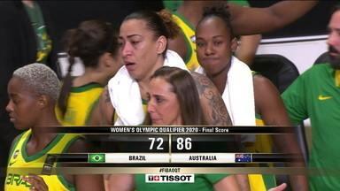 Seleção feminina de basquete é derrotada pela Austrália e não vai para Tóquio - Seleção feminina de basquete é derrotada pela Austrália e não vai para Tóquio
