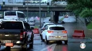 Avenidas importantes de SP estão interditadas por causa da chuva nesta segunda-feira