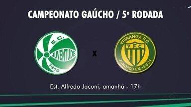 Juventude joga contra o Ypiranga neste sábado (8), no estádio Alfredo Jaconi - A partida inicia às 17h.