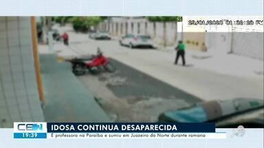 Idosa continua desaparecida em Juazeiro do Norte - Confira mais notícias em g1.globo.com/ce