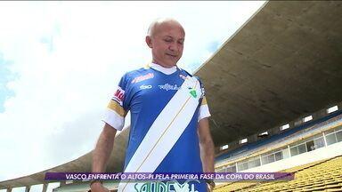 Vasco vai ser inspiração para camisa do rival Altos-PI na partida da primeira fase da Copa do Brasil - Vasco vai ser inspiração para camisa do rival Altos-PI na partida da primeira fase da Copa do Brasil