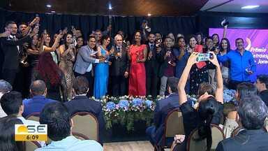 G1 e TV Sergipe vencem IX edição do Prêmio Setransp de Jornalismo - O evento, realizado pelo Sindicato das Empresas de Transportes de Passageiros do Município de Aracaju (Setransp), aconteceu nessa quarta-feira (12), na Orla de Atalaia.