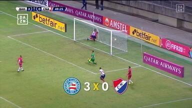 Bahia vence o Nacional por 3 a 0 na estreia pela Sul-Americana - Bahia vence o Nacional por 3 a 0 na estreia pela Sul-Americana