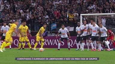 Corinthians é eliminado da Libertadores e não vai para fase de grupos - Corinthians é eliminado da Libertadores e não vai para fase de grupos
