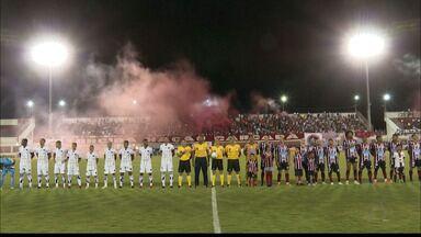 Reportagem sobre Atlético-BA 0 x 0 Botafogo-PB, pela primeira fase da Copa do Brasil - Empate sem gols no interior da Bahia classifica o time paraibano para a próxima fase